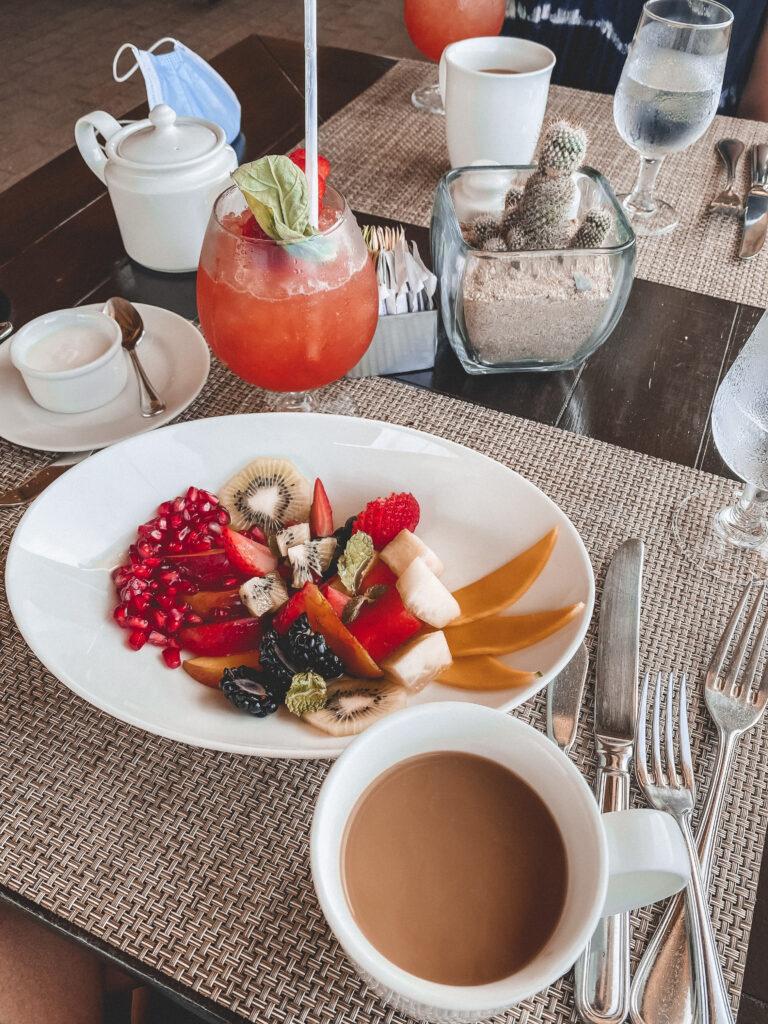 Breakfast in Cabo at Pueblo Bonito Pacifica