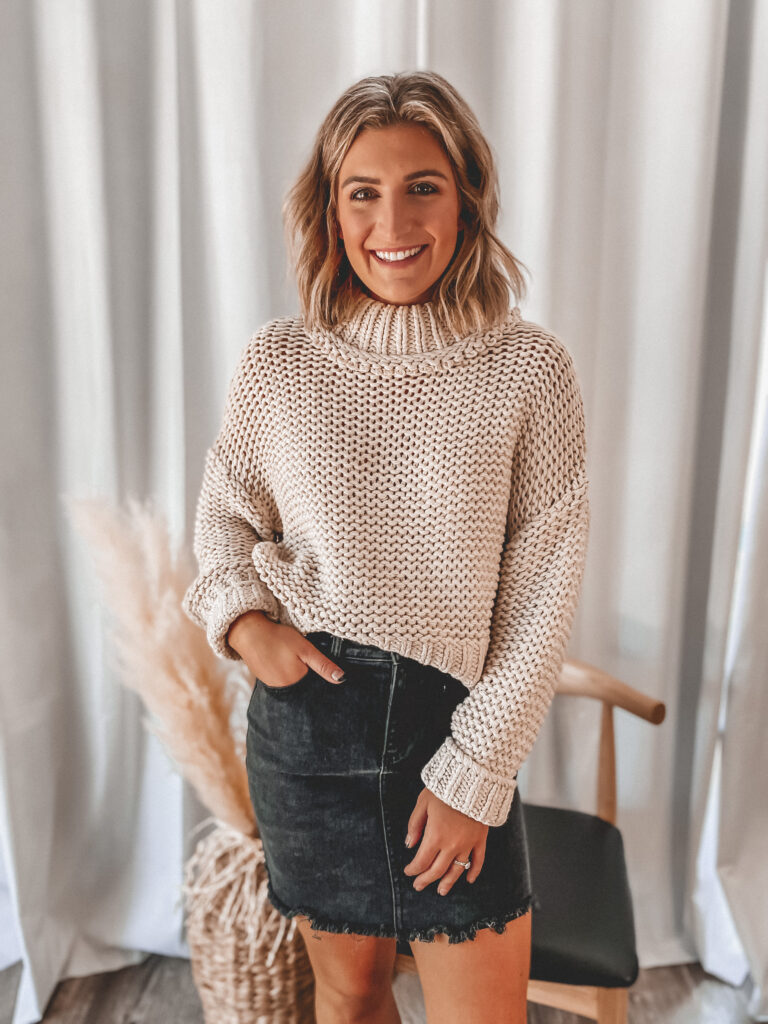 Cozy Knit Sweater for Fall | Fall Staples