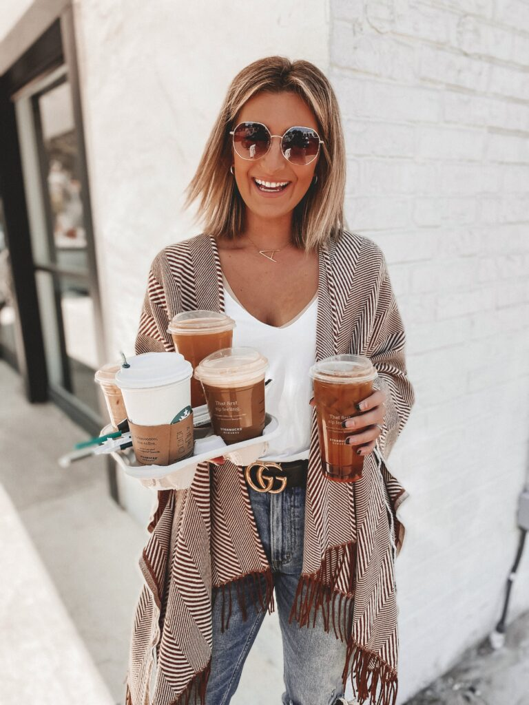 Starbucks Iced Coffee Drinks | Dallas Blogger Audrey Stowe