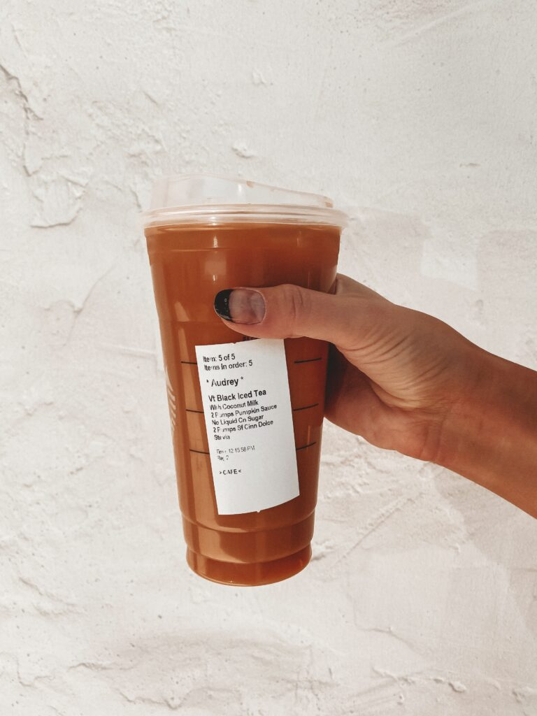 Healthy Fall Starbucks Tea Drinks To Try   Starbucks Coffee   Audrey Madison Stowe a Dallas blogger