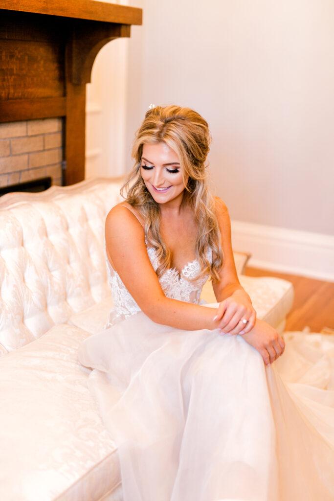 Wedding Hair + Makeup | Winter Wedding Makeup