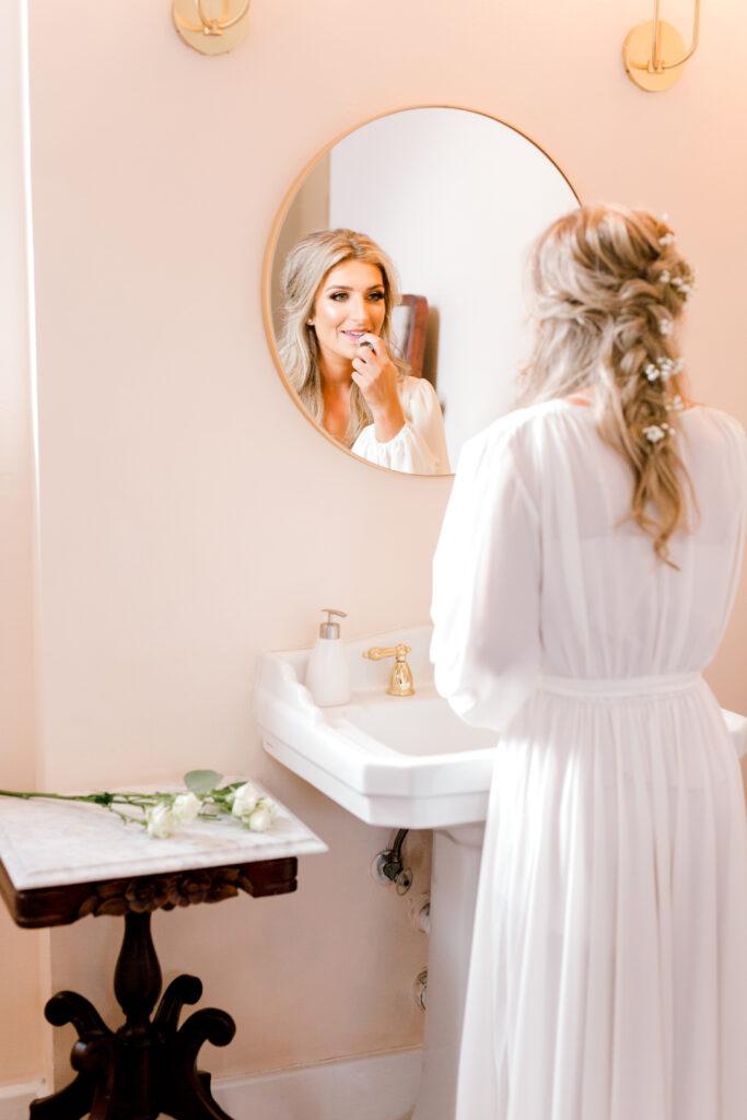 Winter Wedding Hair & Makeup | Wedding hairstyle