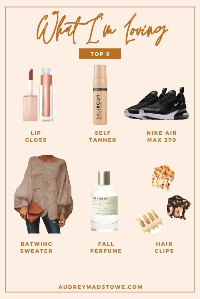 What I'm Loving Lately | Items for Fall | Audrey Madison Stowe