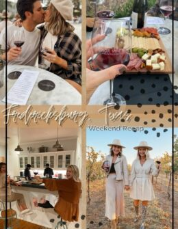What to Do in Fredericksburg, Texas | Audrey Stowe