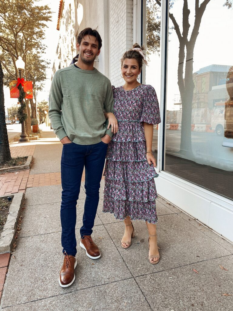 His + Hers Outfits | Thanksgiving Outfit Ideas | Dressy Outfit Looks | Audrey Madison Stowe a fashion and lifestyle blogger