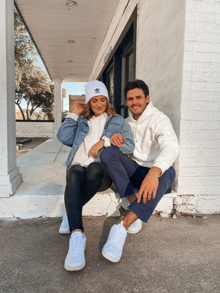 His + Hers Outfits | Thanksgiving Outfit Ideas | Comfy Sporty Outfit | Audrey Madison Stowe a fashion and lifestyle blogger