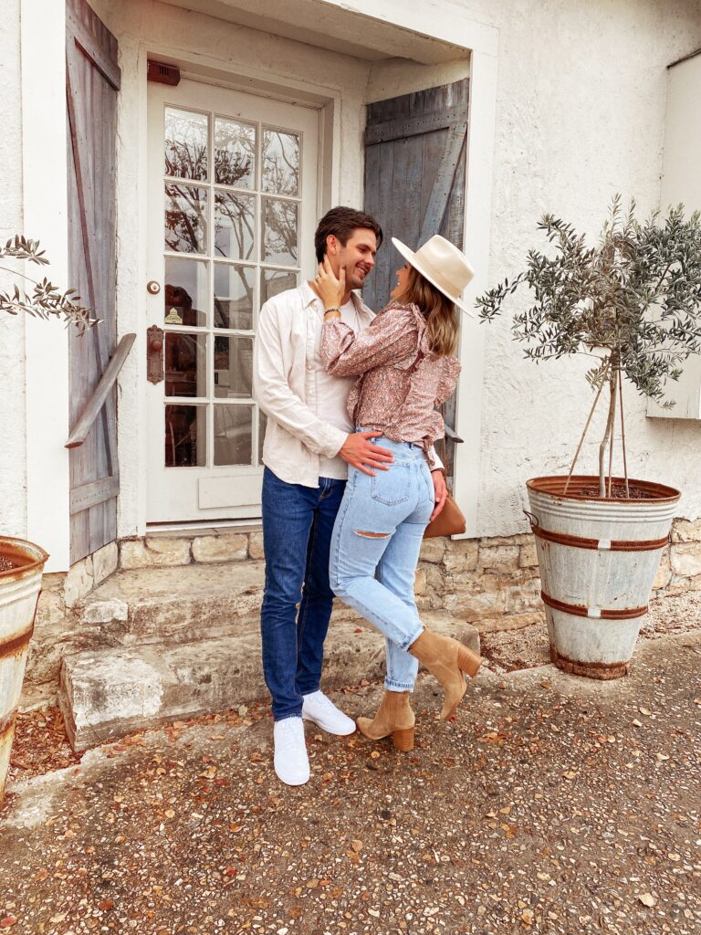His & Hers Thanksgiving Outfit | Denim option | Audrey Madison Stowe