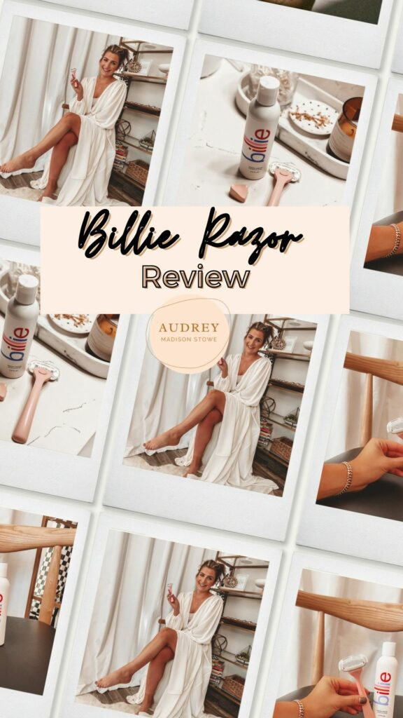 I Tried the Billie Razor | Review | Wellness Wednesday | Audrey Madison Stowe a fashion and lifestyle blogger