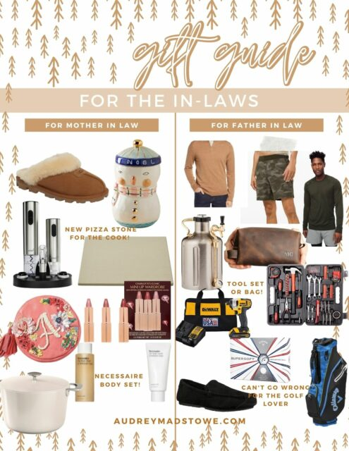 Gift Guide For the In Laws | What To Get Your Mother in Law for Christmas and your Father In-Law