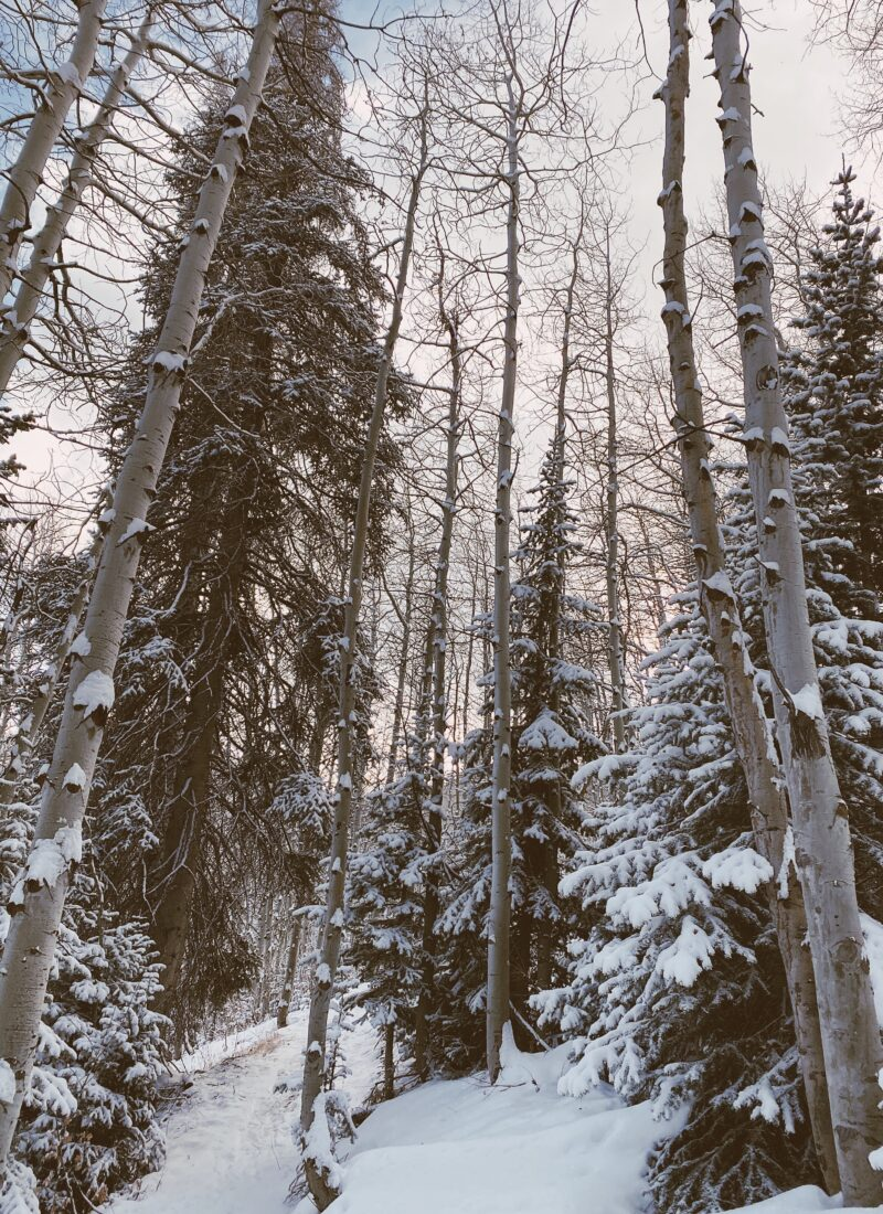 Winter Trip to Park City, Utah | audrey madison stowe