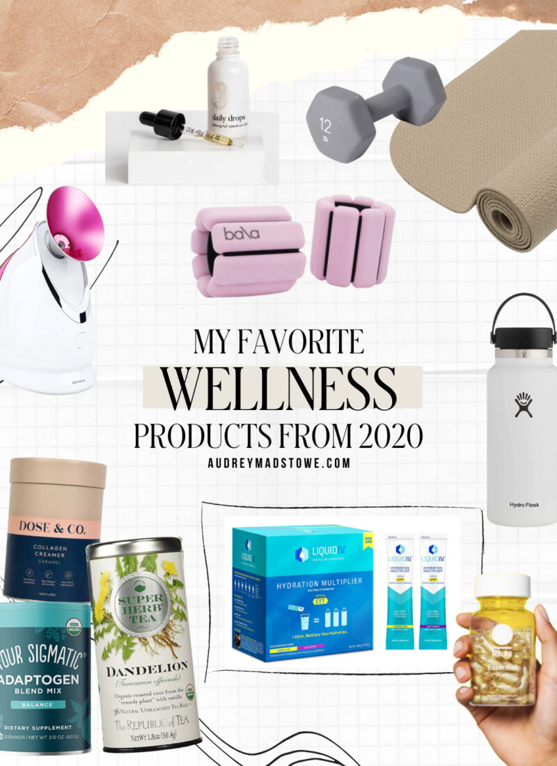 Favorite Wellness Products of 2020