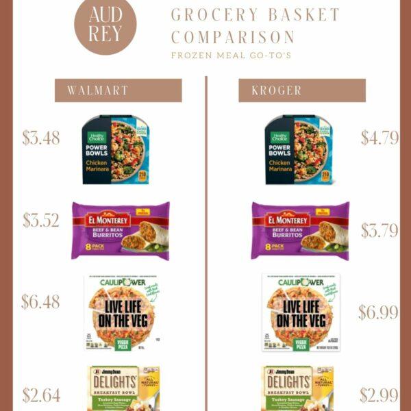 Go-To Frozen Meals | Save Money at Walmart!
