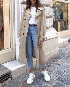 Trench coat spring style