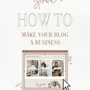 How To Make Your Blog a Business | Audrey Madison Stowe