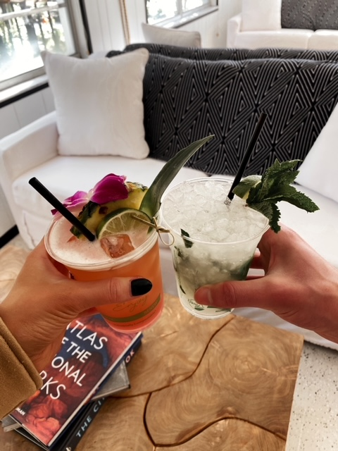 Visiting Anna Maria Island | What to Do | Aesthetic vibey drinks