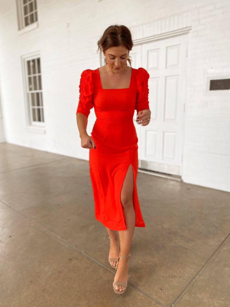 Valentine's dress or Wedding Guest Dresses From Amazon | Audrey Madison Stowe a fashion and lifestyle blogger
