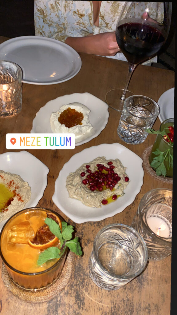 Meze Tulum | Tulum Restaurant to Try | Audrey Madison Stowe