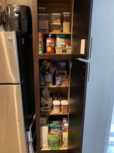 Pantry Organization | Apartment organization | Audrey Madison Stowe