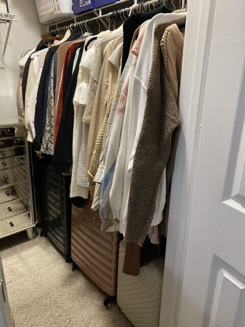 closet organization | Apartment living