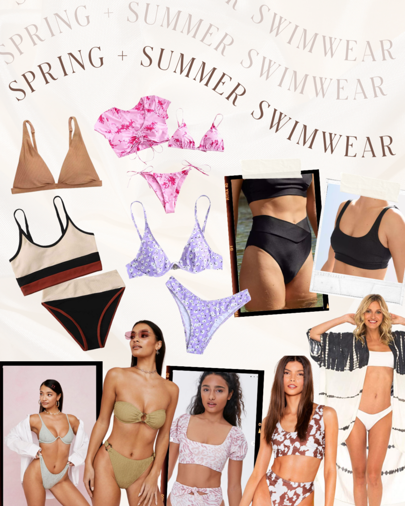 Spring + Summer Swimwear | Audrey Madison Stowe