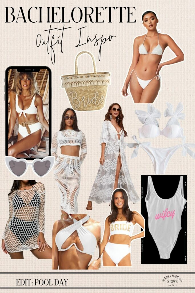 Bachelorette Outfit Ideas For the Pool | What to wear on your Bach! Audrey Madison Stowe a Texas lifestyle blogger