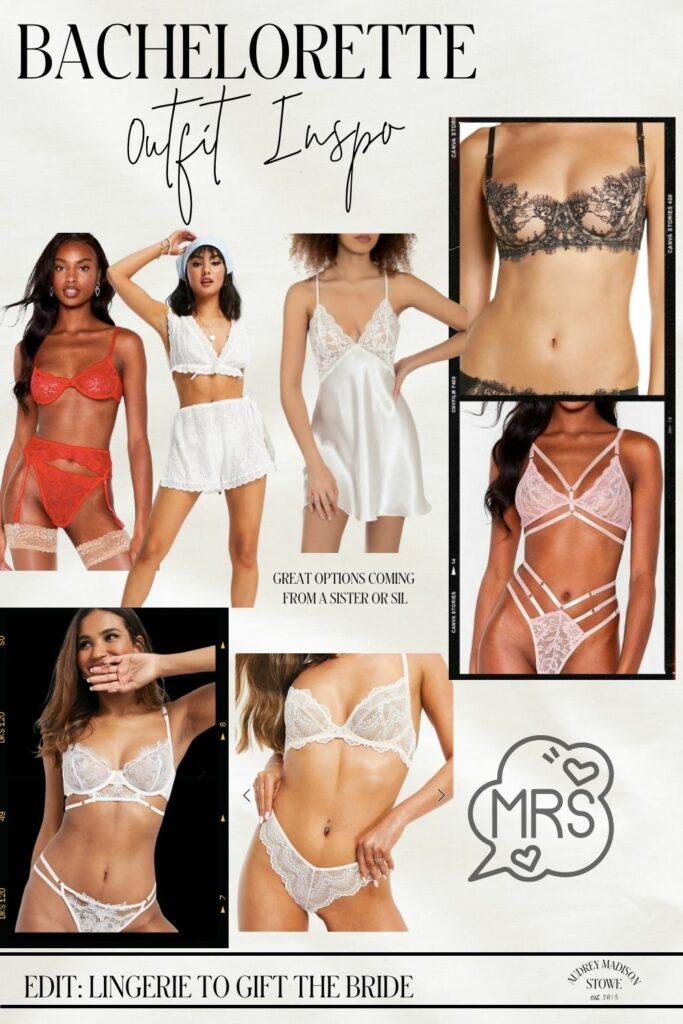 Bachelorette Lingerie | Lingerie Party for the Bride | ideas by Audrey Madison Stowe a Texas fashion blogger