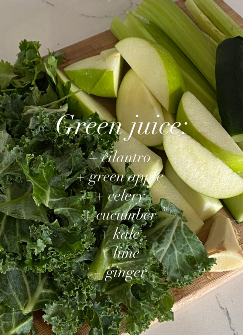 Green Juice Recipe to Try