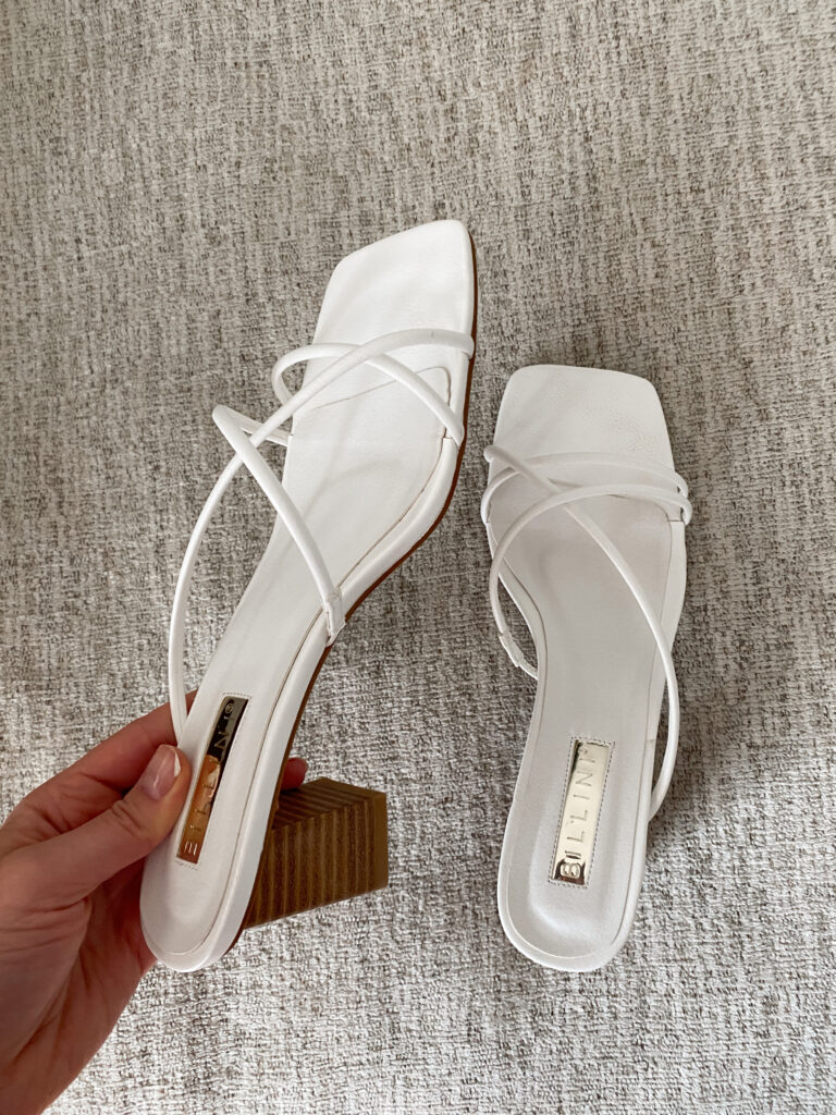 Cute Spring Heeled Sandals to wear this year | Spring Staples | Audrey madison stowe