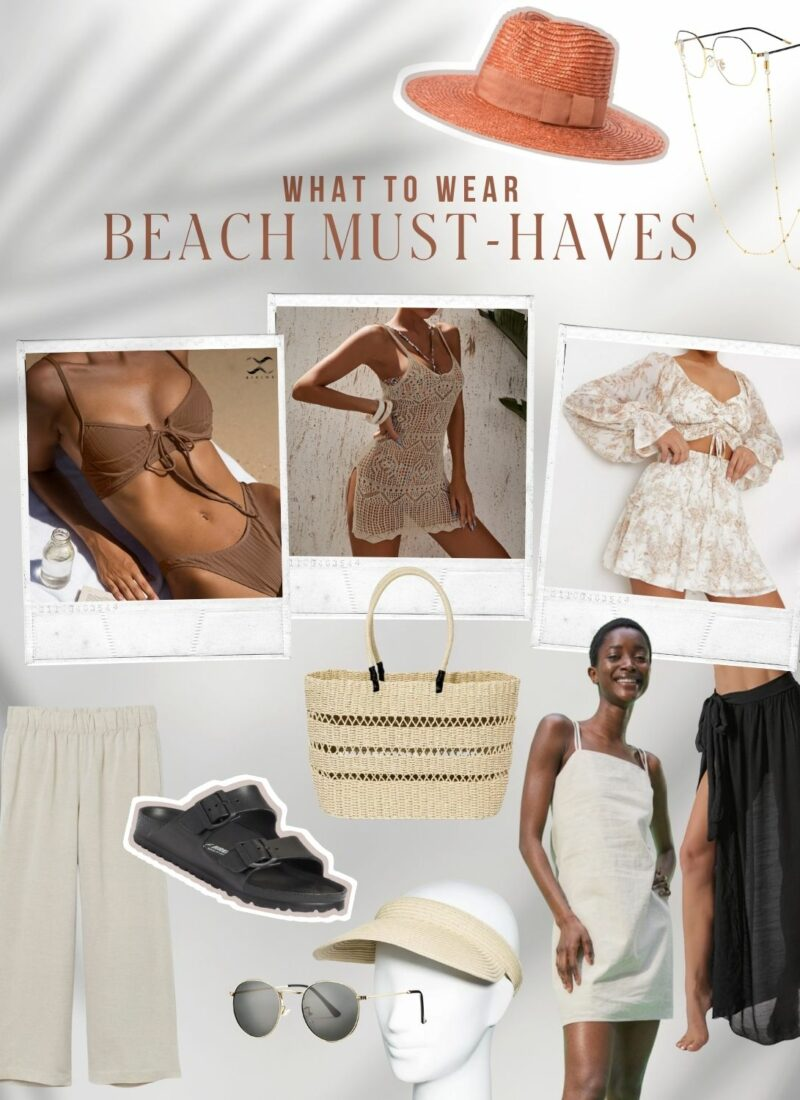 Beach Must Haves 2021 | What to wear & bring