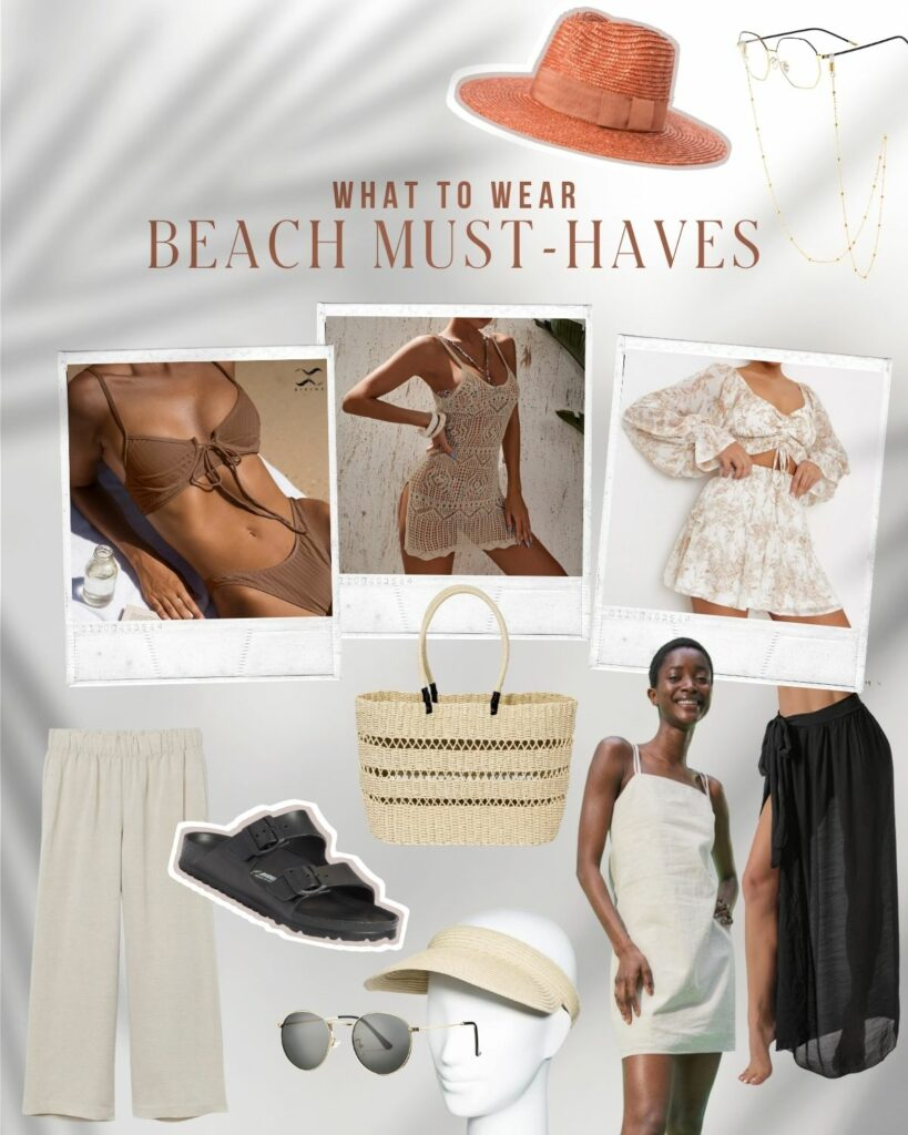 Beach Must Haves 2021 | What To wear To the Beach / Neutral and Chic | Audrey Madison Stowe a fashion and lifestyle blogger