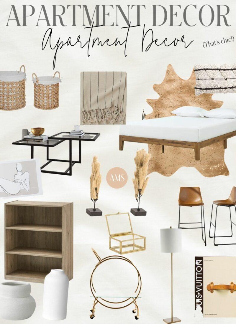 Cute & Affordable Apartment Decor