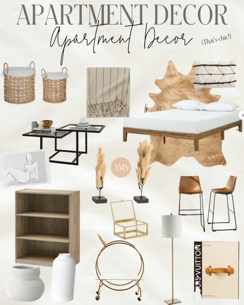 Chic and Affordable Apartment Decor | Audrey Madison Stowe a fashion and lifestyle blogger