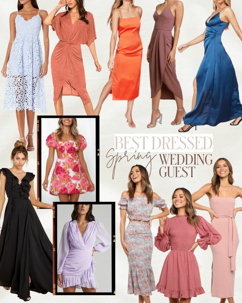 Wedding Guest Dresses | What to Wear to a Wedding this Summer | Audrey Madison Stowe