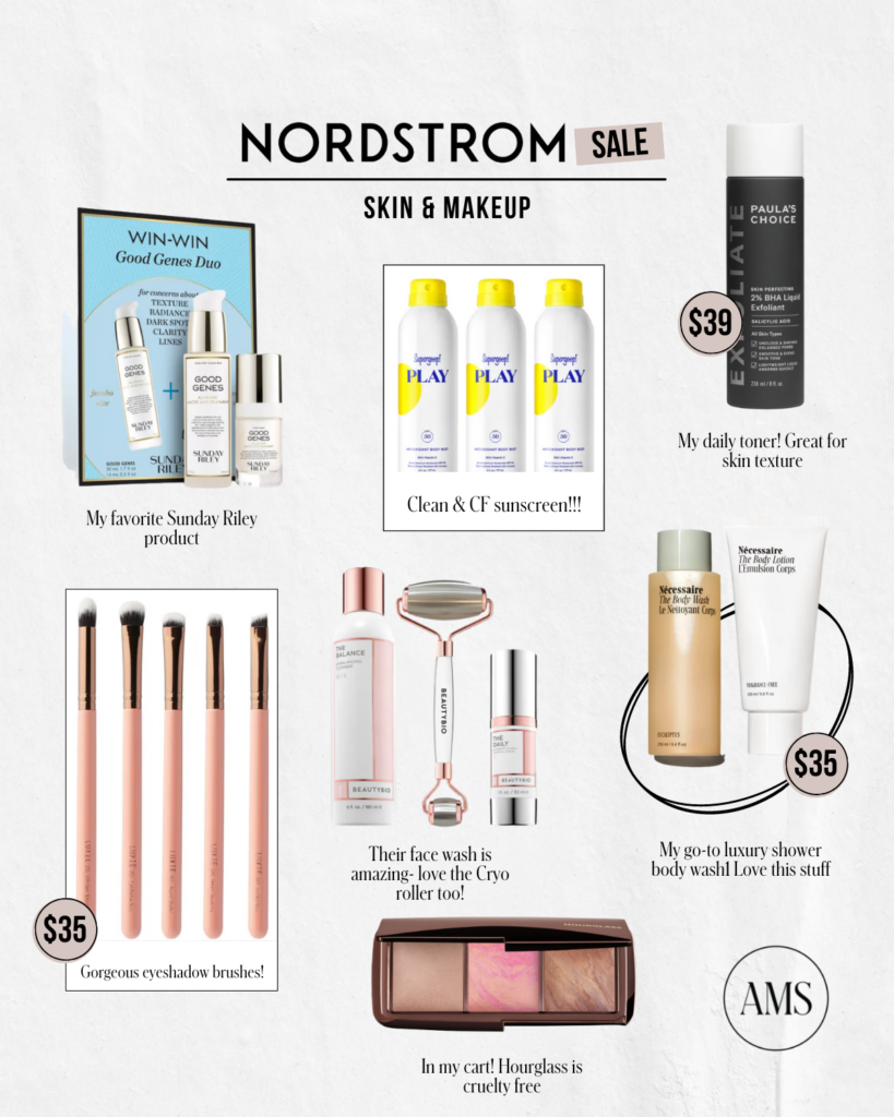 Nordstrom Anniversary Sale 2021 / Makeup products
