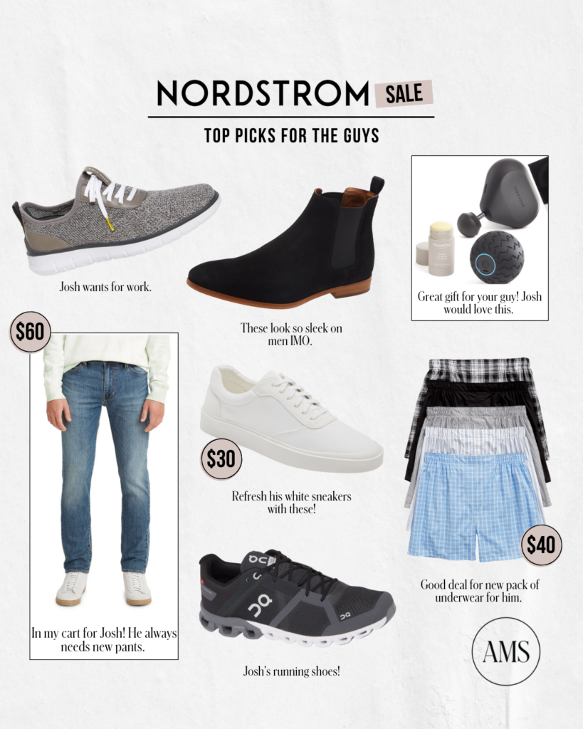 Pick for the guys! Menswear apart of Nordstrom Anniversary Sale