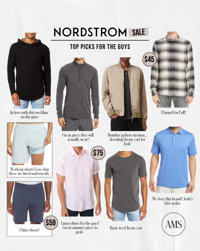 Pick for the guys pt 2! Menswear apart of Nordstrom Anniversary Sale
