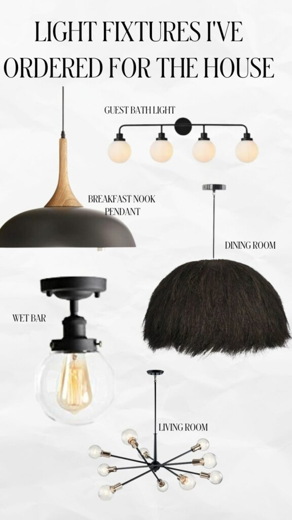 Home Light Fixtures I've Ordered   Audrey Madison Stowe a fashion and lifestyle blogger