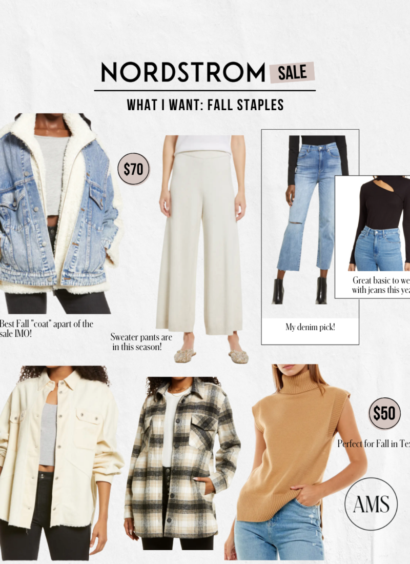 What I Think is Worth it From The Nordstrom Anniversary Sale 2021