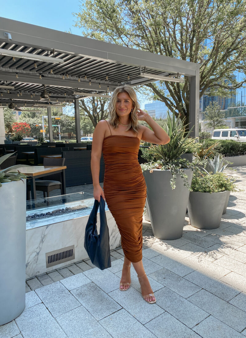 Summer To Fall Wedding Guest Dresses | Affordable Amazon event dresses | Audrey Madison Stowe