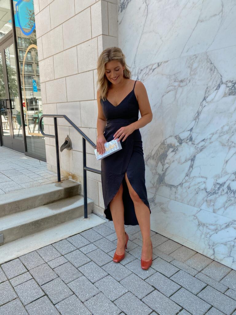 Black Tie Wedding   Wedding Guest Dress   Amazon finds   Audrey Stowe