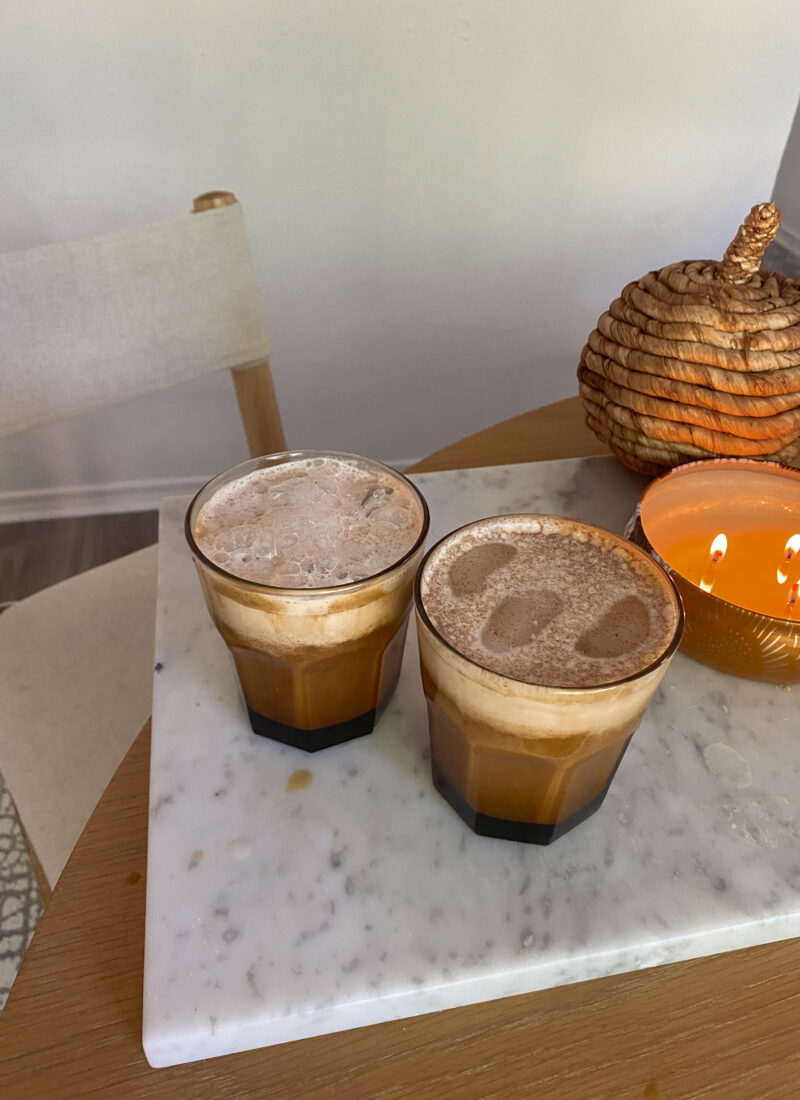 Pumpkin Latte At Home