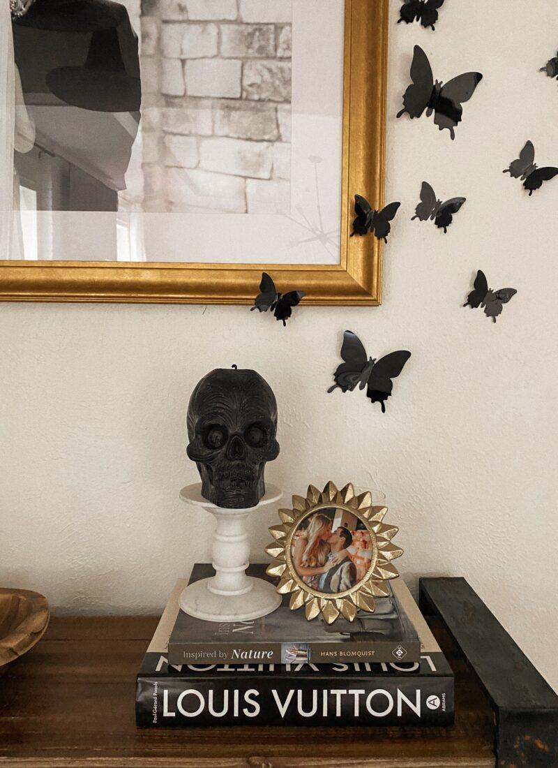 Entryway Halloween Spooky Decor | Spooky Chic | Skeleton |
